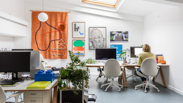 Shared offices in london - Eat Work Art - Hackney Downs Studios